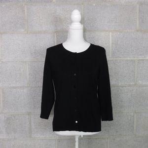 Talbots Pima Cotton Cardigan Size S